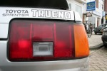 My old Trueno coupe taillight and sticker