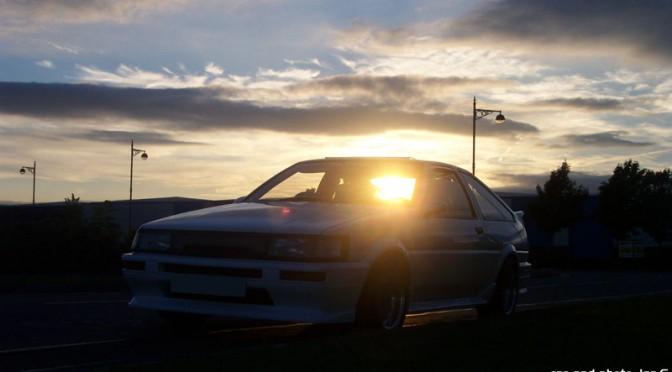 ÌanG's hachi at sundown