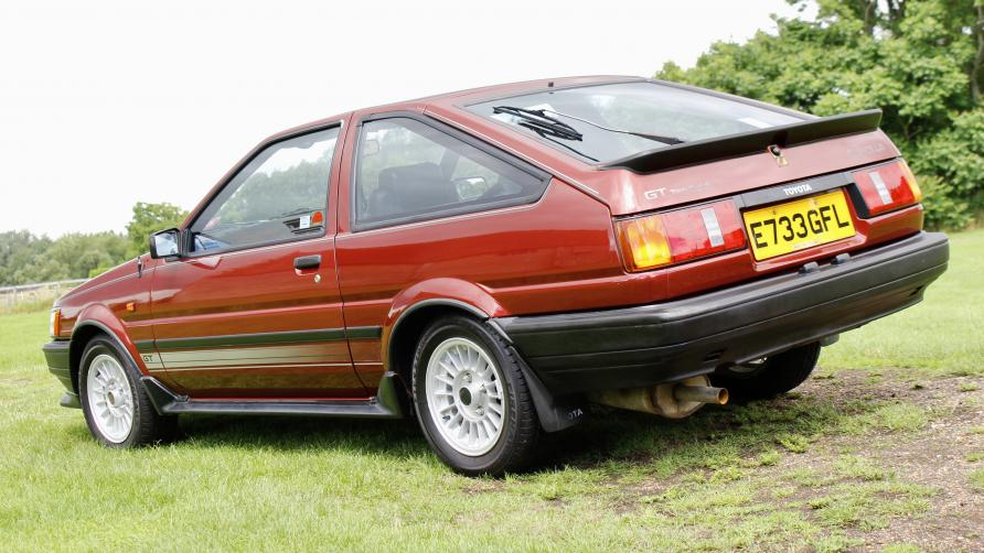 One owner Corolla AE86 this side is probably keyed