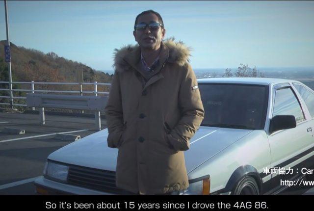 50 years Corolla: Keiichi Tsuchiya's AE86 experience
