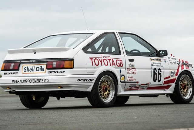 Toyota Corrolla GT AE86 winning the BTCC in 1987